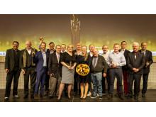 Die Gewinner des Deutschen Metallbaupreises 2018 und des Feinwerkmechanikpreises 2018