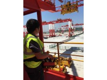 RRC operations at Port of Yangshan