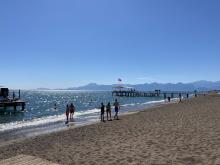 2021-10-06 Inforeise AYT Strandspaziergang