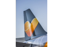 Solen skal bringe ny energi til Thomas Cook Airlines' hovedkontor i Dragør, hvor ca. 200 er ansat.