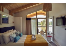 Waterside Lodge Bedroom at Elveden Forest
