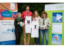 Santander ist Hauptsponsor der DHM Volleyball in Gießen