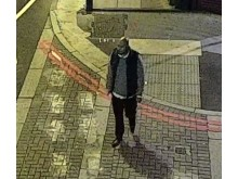 Graden captured on CCTV shortly before the Spitalfields attack