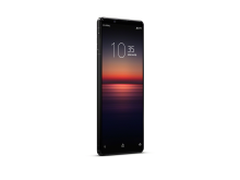 Xperia 1 II_front40r_black_withClock-Large