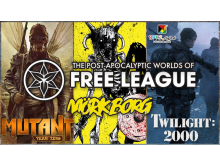 Free League at SPIEL.digital 2020