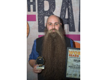 Jonas Bergkvist, Best Full Natural Beard 2018