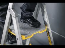 Profftrapp 55S - metallplattform med skisikring