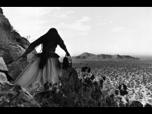 © Graciela Iturbide, Mujer Angel, Desierto de Sonora, Me, 1979