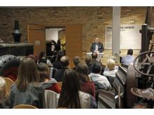 Landrat Daniel Kurth bei der Übergabe des Barnim-Stipendiums 2020/21