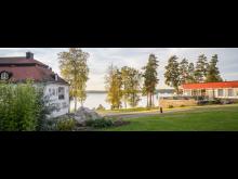 Bommersvik i Järna - satsar på nära mat och prisvärt boende