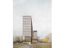 Büroneubau in Hamburger City Nord geplant