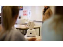Robot på skolen