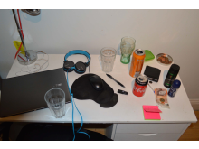 Laptop in Vaughan's bedroom
