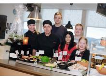 Lidens skolrestaurang i Sundsvall finalist i Arla Guldko® 2017