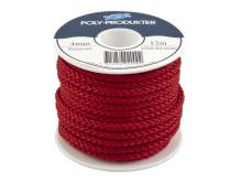 Polyestersilkelinor - Röd spole