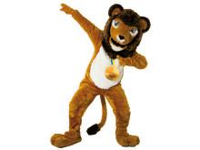 Borås Djurparks Leo lejon gästspelar som officiell maskot under Friidrotts-SM 2013