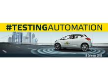 Euro NCAP #TestingAutomation banner