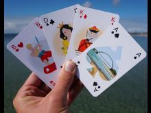 Kartenblatt Scharwenzel-Spiel