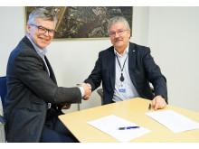 Signerte avtale med Skedsmo kommune