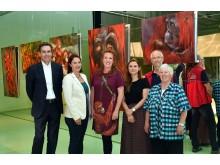 Ausstellungseröffnung Orang-Utans