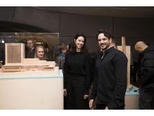 Skellefteås kommande kulturhus visas upp på Roca London Gallery.