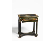 Damarbetsbord, kombinerat skriv- och sybord, Sverige 1820-tal, Edelstam Antik, Grand 2019