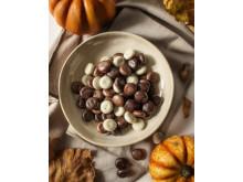 Lelles Chokladdoppade mini-pepparkakor