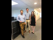 Johann, Marcel und Martina im Sundair HQ.JPG