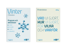 Exempelmaterial med NBVs nya grafiska profil