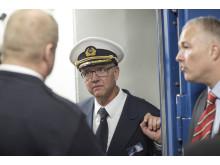 Christian B. Jensen, kaptajn