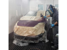 Apollo Motor Group spray booth