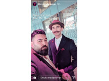 Swedish Barber Expo och World Beard Day i sociala medier