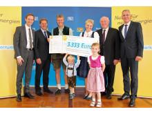 Preisträger Bürgerenergiepreis_Familie Sporrer