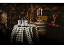 Winemakers Dinner med sjungande vinmakare