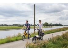 Radtour an der Elbe in der Prignitz