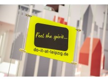 "IMEX 2019: Logo der Kongressinitiative ""Feel the spirit...do-it-at-leipzig.de"""