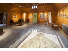 Rummet för Asplund och Lewerentz på Visitors center/The Asplund and Lewerentz room at the Visitors Center
