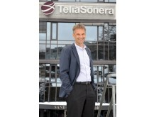 Abraham Foss, administrerende direktør i TeliaSonera Norge