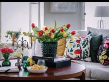 Buketter av svenska tulpaner