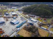 Transport fra Monstad til Kvenndalsfjellet, 27.4.2020