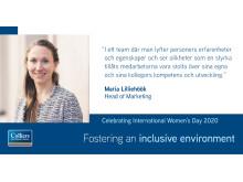 Maria Internationella kvinnodagen