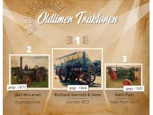 Oldtimer-Traktoren – Maschinen, den Weg in die moderne Landwirtschaft ebneten.