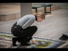 """""""In Forest Intervals / Responding to the Forest's Call"""" programdag med Statens Konstråd i Åsa Elzéns utställning"""