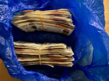 Cash recovered from address in Hammersmith