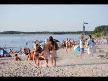 Strandspaziergang am Cospudener See  - Foto: Andreas Schmidt