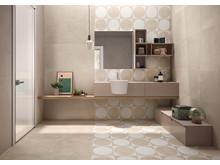 Badrumstrender 2020; Be Square, vägg- och golvplattor, Kakeldaxgruppen