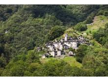 Corippo im Verzascatal, Tessin, ist die nach Einwohnern (12) kleinste politische Gemeinde der Schweiz © Schweiz Tourismus