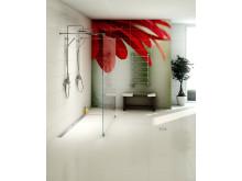 Purus Line Platinum - Designed floor gully