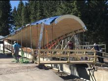 ZÜBLIN Timber, bobsleigh