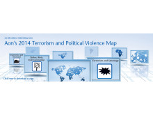 Aon's 2014 Terrorism and Political Violence Map